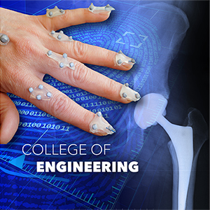 Artists rendering of hand with attached health sensors