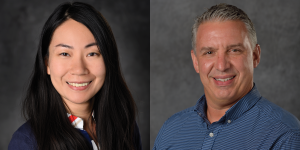 Portraits of Dr. Li and Dr. Spence